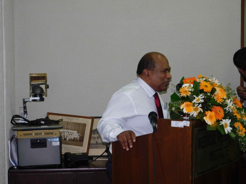 Dr Amal Harsha de Silva , Additional Secretary, Ministry of Health